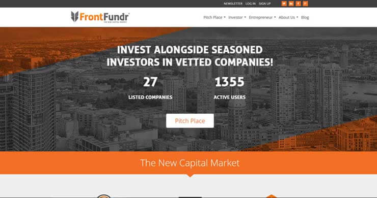 webilize, blog image, best website design tips for financial and insurance firms, frontfundr