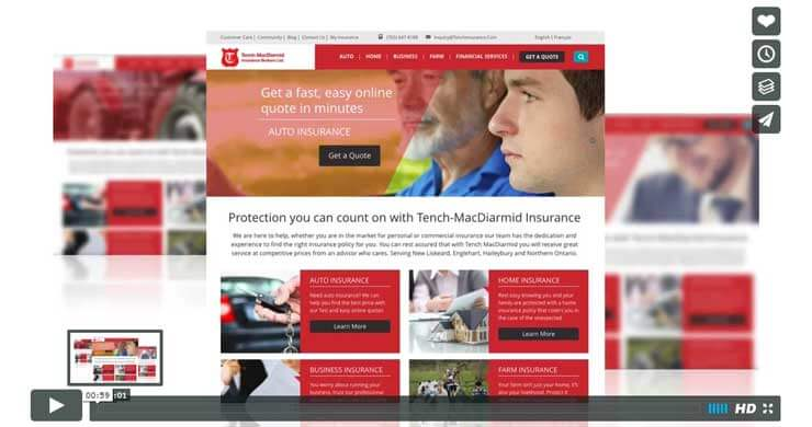 webilize, blog image, best website design tips for financial and insurance firms, tench
